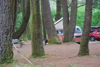 Westy at Beachside, Oregon