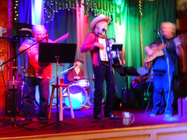 Polka Cowboys, me on drums