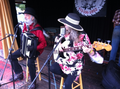 On Stage at Cotati Accordion Festival